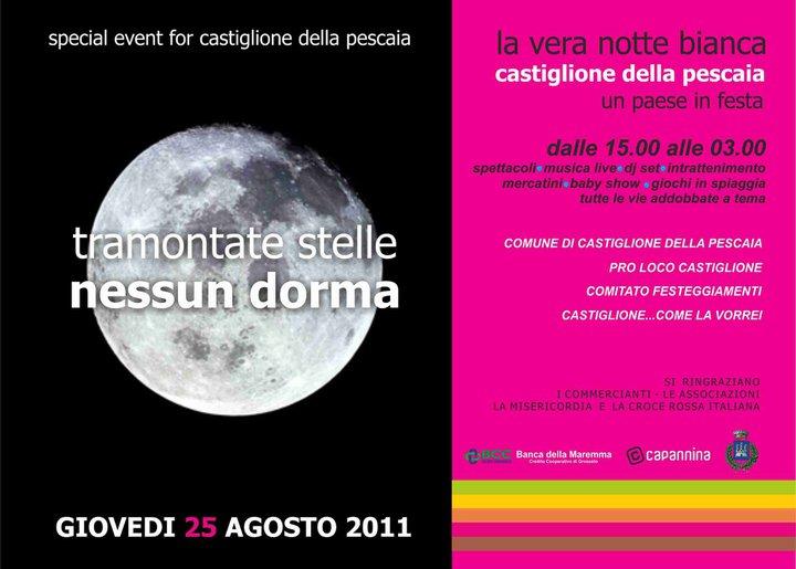 Notte Bianca 2011 - Castiglio Pescaia