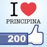 200 Mi Piace per iLovePrincipina