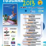 Locandina Beach Tennis Toscana Tour 2013