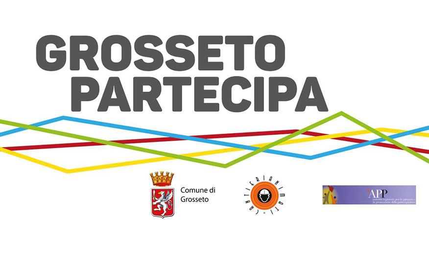 Logo Grosseto Partecipa