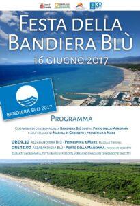 Manifesto Festa Bandiera Blu