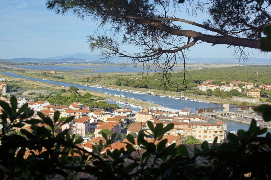 Panorami maremmani a Castiglione della Pescaia